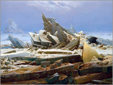 Wall Stickers  The Arctic (of the Hope) - Caspar David Friedrich