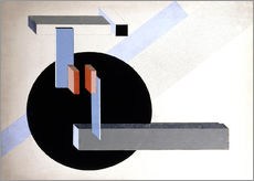 Wall sticker  Proun N 89 - El Lissitzky