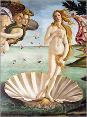 Gallery print  The Birth of Venus (detail) - Sandro Botticelli