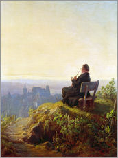 Wall Stickers  Peaceful Evening - Carl Spitzweg