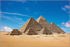 Gallery print  Pyramids of Giza - Miva Stock
