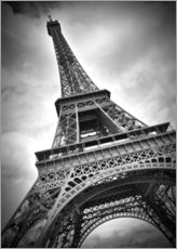 Wall Stickers  Eiffelturm PARIS III - Melanie Viola