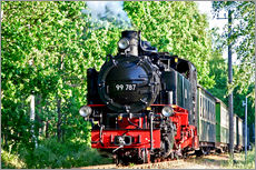 Gallery print  famous train Rasender Roland' - wiw