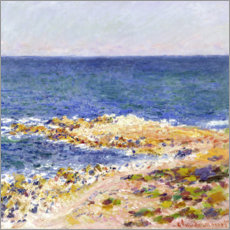 Canvas print  La grande Bleue à Antibes - Claude Monet
