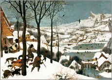 Gallery print  Hunters in the snow - Pieter Brueghel d.Ä.