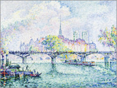 Wall sticker  Paris, Ile de la Cité. 1913 - Paul Signac