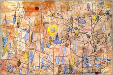 Wall sticker  Sparsely leafy - Paul Klee