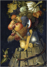 Wall sticker  The Autumn - Giuseppe Arcimboldo