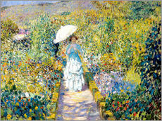 Wall sticker  Der Gartenweg. - Frederick Carl Frieseke
