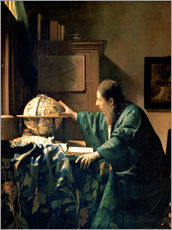 Gallery Print  The Astronomer - Jan Vermeer