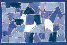 Aluminium print  Blue Night - Paul Klee