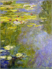 Wall sticker  lily pond - Claude Monet