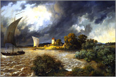 Wall sticker  Upcoming Storm - Ernst Ferdinand Oehme