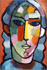Wall sticker  Girl's head - Alexej von Jawlensky