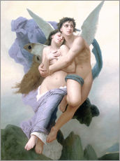 Wall sticker  Abduction of Psyche - William Adolphe Bouguereau