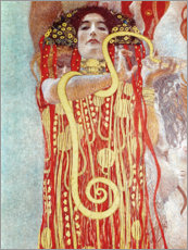 Wall sticker  Hygieia detail from the medicine - Gustav Klimt