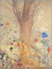 Wall sticker  The Buddha - Odilon Redon