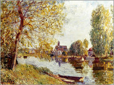 Wall sticker  Spring in Moret-sur-Loing - Alfred Sisley