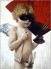 Wall sticker  Cupid at the masked ball - Franz von Stuck