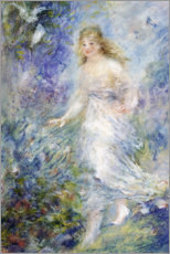 Canvas print  Spring (The Four Seasons) - Pierre-Auguste Renoir