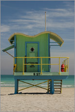 Gallery print  South Beach in Miami - Nancy & Steve Ross