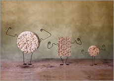 Wall sticker Simple Things - Strong Food