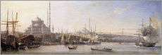 Gallery print  The Golden Horn, Suleymaniye Mosque and Fatih Mosque - Antoine Léon Morel-Fatio