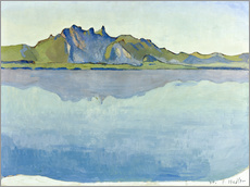 Gallery print  Lake Thun with Stockhorn chain - Ferdinand Hodler