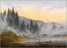 Gallery print  The morning - Caspar David Friedrich