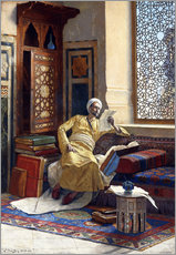 Gallery print  The Scholar - Ludwig Deutsch