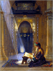 Wall Sticker  In the Mosque - Carl Friedrich Heinrich Werner