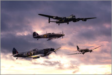 Gallery print  Battle of Britain Memorial - airpowerart