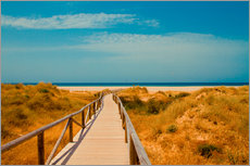 Gallery print  way to the beach - Tarifa (Andalusia), Spain - gn fotografie