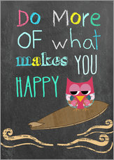 Wall Sticker  Do more of what makes you happy - GreenNest