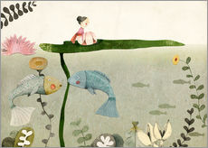 Wall sticker  Thumbelina III - Judith Loske
