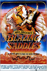 Gallery Print  BLAZING SADDLES