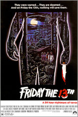 Wall sticker FRIDAY THE 13TH