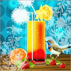 Gallery print  Vintage Birdy Cocktail II - Mandy Reinmuth