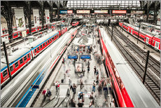 Gallery print  Hamburg Central Station - Sascha Kilmer