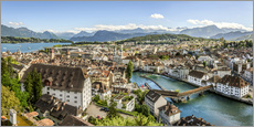 Gallery print  Lucerne Panorama - Olaf Protze