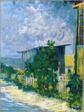 Wall Stickers  Shelter on Montmartre - Vincent van Gogh