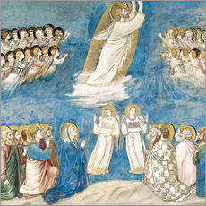 Gallery print  The Ascension of Christ - Giotto di Bondone