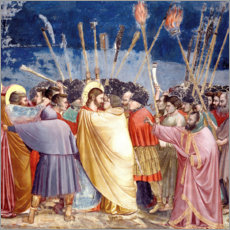 Canvas print  The Arrest of Christ - Giotto di Bondone