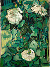 Wall Stickers  Roses and Beetle - Vincent van Gogh