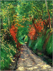 Gustave Caillebotte - Forest path
