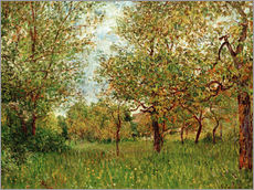 Wall sticker  Small Meadow in By - Alfred Sisley