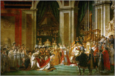 Wall sticker  The Coronation of Napoleon - Jacques-Louis David