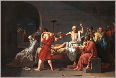 Gallery Print  The Death of Socrates - Jacques-Louis David
