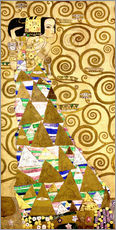 Wall sticker  The Tree of Life (The Expectation) - Gustav Klimt