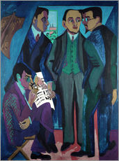 Wall sticker  Artists' Community - Ernst Ludwig Kirchner